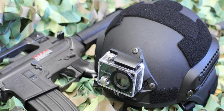 カメラ付ヘルメット